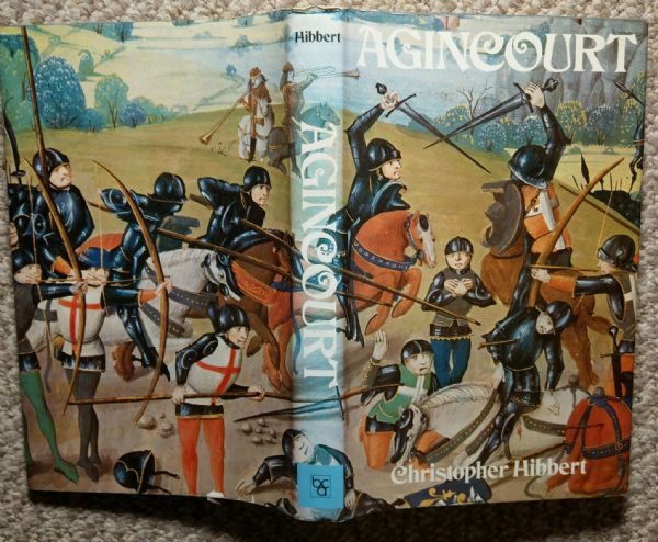 Agincourt, book, by Christopher Hibbert